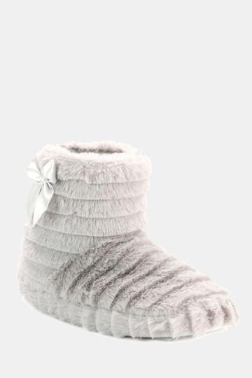Fluffy Slipper Boot