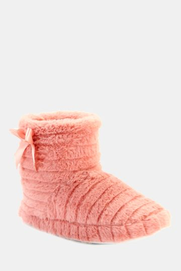 Fluffy Slipper Boot