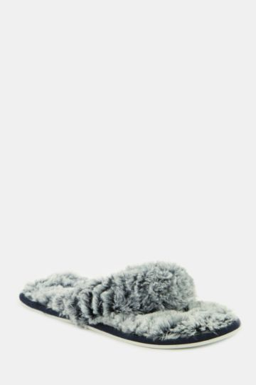Fluffy Thong Slipper