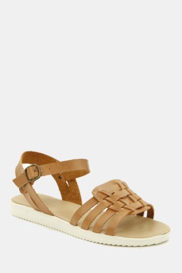Interlaced Mule Sandal