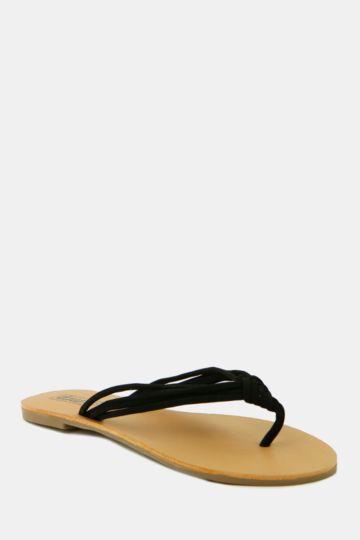 Multi Strap Thong Sandal