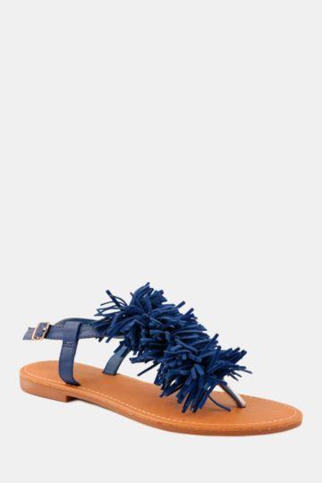 Tassel Thong Sandal