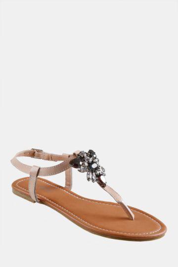 Embellished Thong Sandal