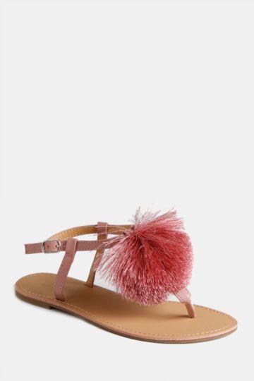 Pom Pom Sandal