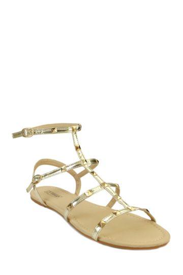 Stud Gladiator Sandal