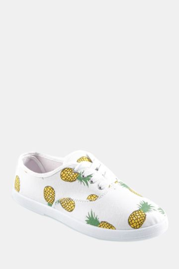 Pineapple Lace Up