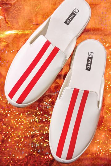 Stripe Slip On Sneaker