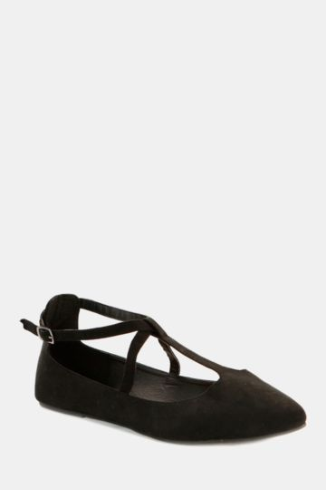Pointed Mary Jane Pump