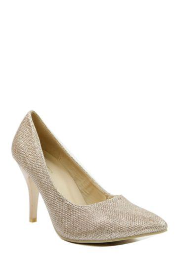 Glitter Court Heel