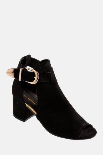 Block Heel Footcover