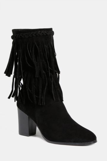 Tassel High Leg Boot