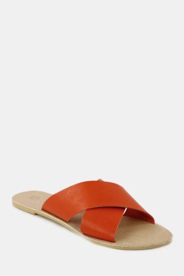 Crossover Mule Sandal