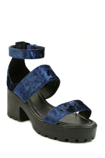 Block Heel Trucker Sandal