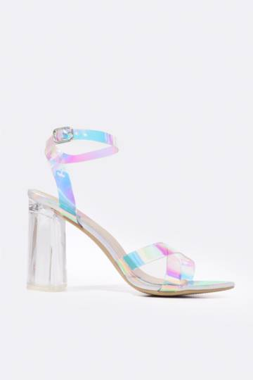 Holographic Block Heel