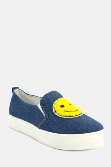 Smiley Slip On