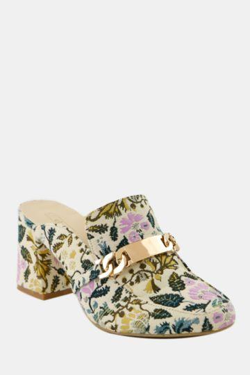 Block Heel Loafer