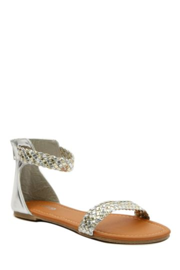Plait Detail Sandal