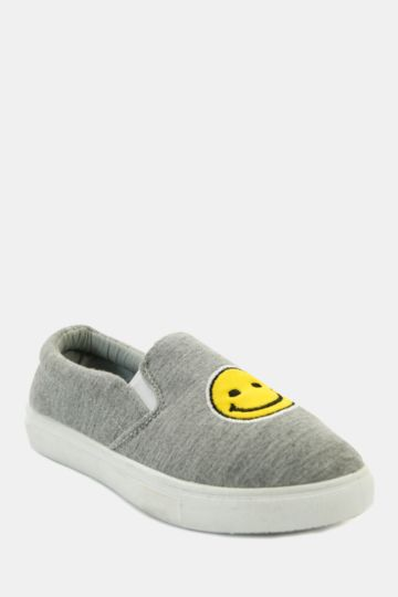 Smiley Slip On