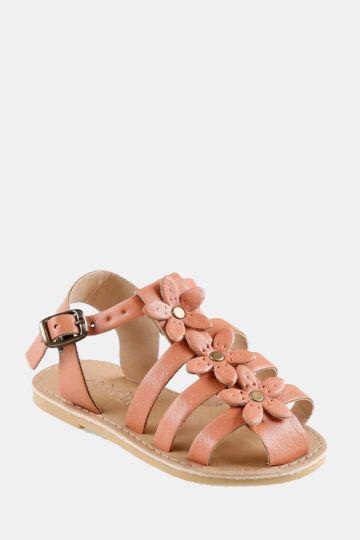 Flower Gladiator Sandal