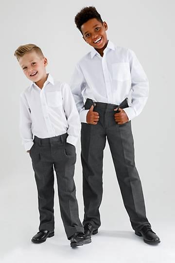 Boys Elasticated School Pants