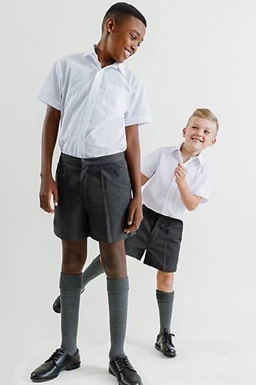 Boys Elasticated School Shorts