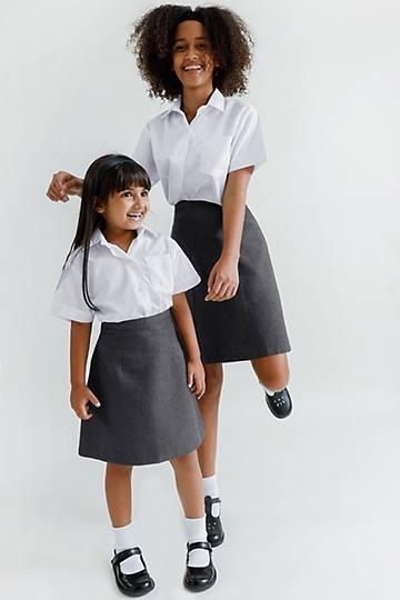 Girls Premium School Skirt