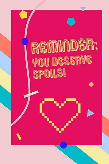 You Deserve Spoils Gift Voucher