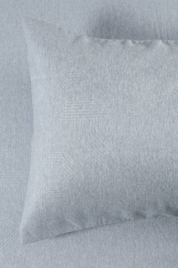 Microfibre Geo Standard Pillowcase