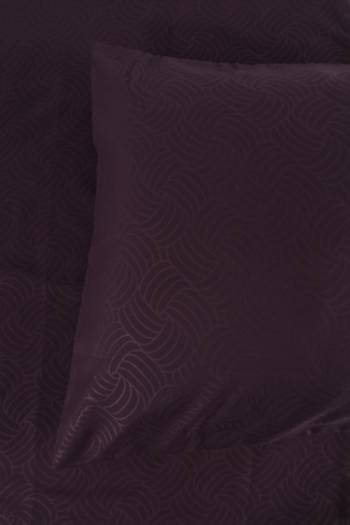 Embossed Microfibre 2 Pack Standard Pillowcase