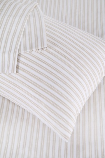 Printed Stripe Pillowcase