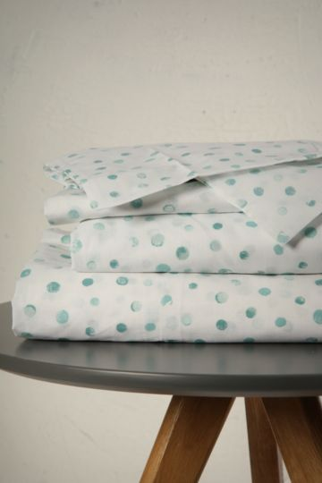 Printed Dot Fitted Sheet