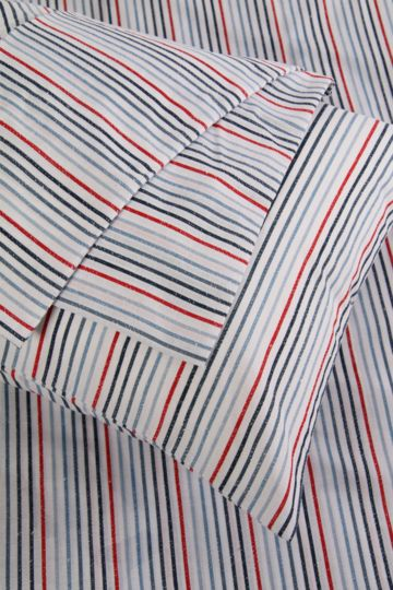 Printed Stripe Pillowcase