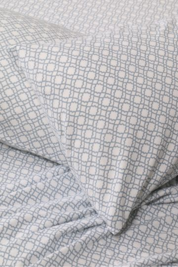 Geo 100% Brushed Cotton Winter Fitted Sheet