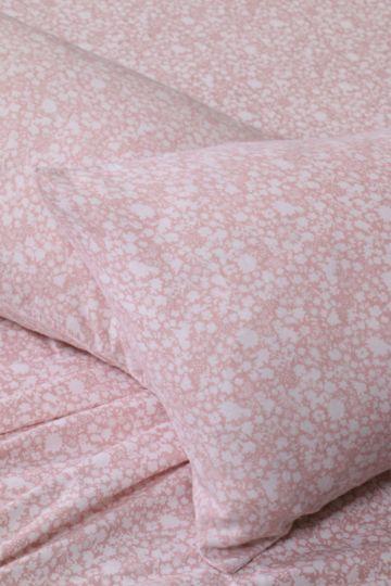 Floral 100% Brushed Cotton Winter Flat Sheet