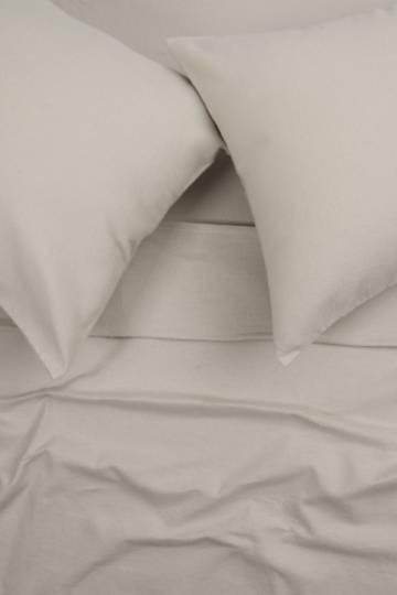 100% Brushed Cotton Winter Flat Sheet