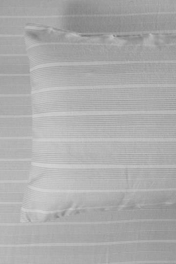 100% Brushed Cotton Stripe Winter Standard Pillowcase