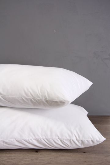 Percale Hollow Fibre Standard 2 Pack