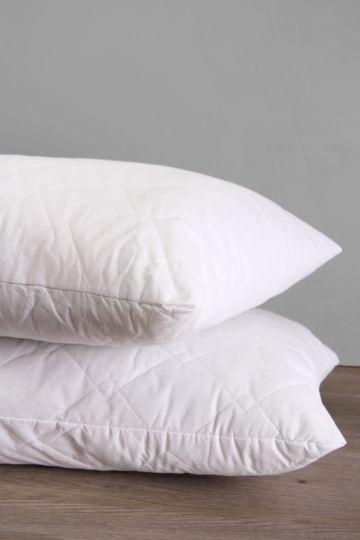 Ball fibre soft touch quilted standard pillow