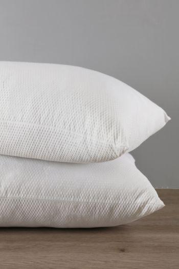 Seersucker Ball Fibre Pillow Pack
