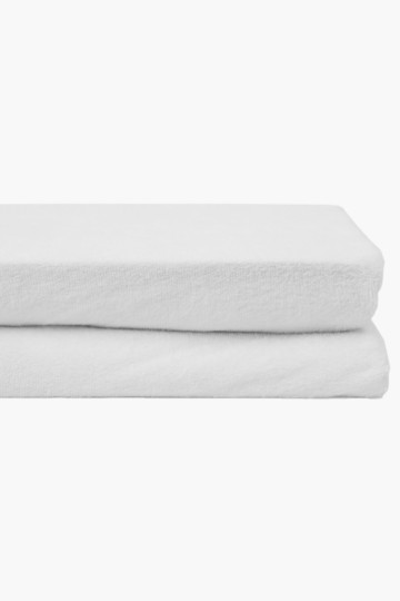 Towelling Extra Length Mattress Protector