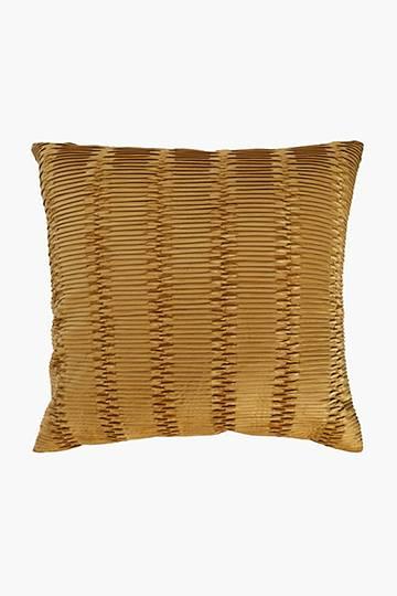 Velvet Tuck Scatter Cushion, 60x60cm