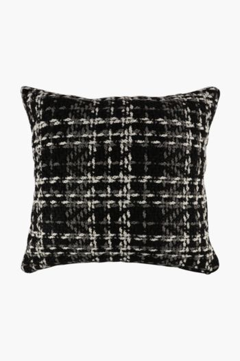 Feather Filled Textured Woven Scatter Cushion 60x60cm