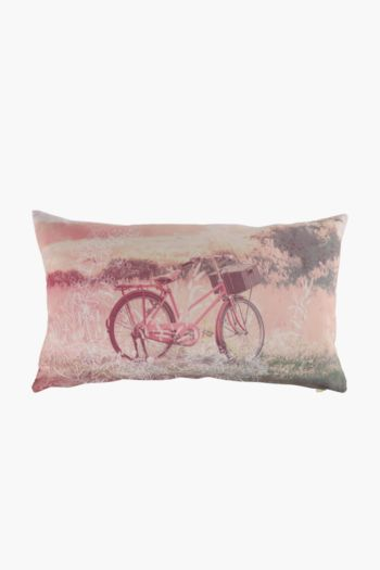 Sunset Bicycle Scatter Cushion 30x50cm