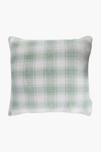 Sherpa Check 60x60cm Scatter Cushion