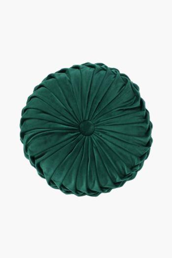 Velvet Round Scatter Cushion