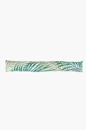 Printed Palm Leaf Breeze Blocker