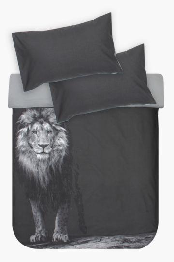 Photographic Lion Duvet Cover Set