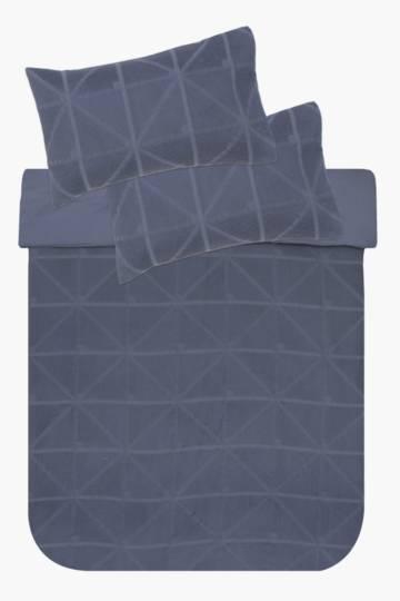 Textured Duvet Cover Set