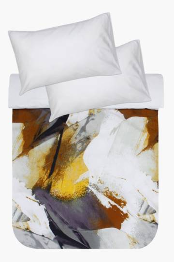 Printed Abstract Duvet Cover Set