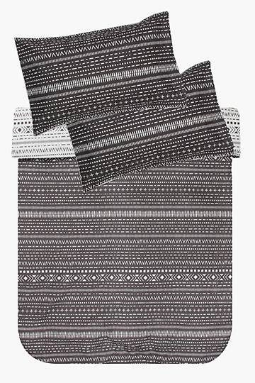 Microfibre Soft Touch Navajo Bed In Bag Duvet Cover Set